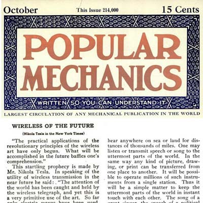 Popular Mechanics article about Tesla vision